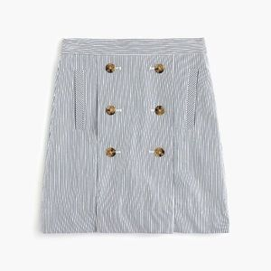 J. Crew Button-front mini skirt